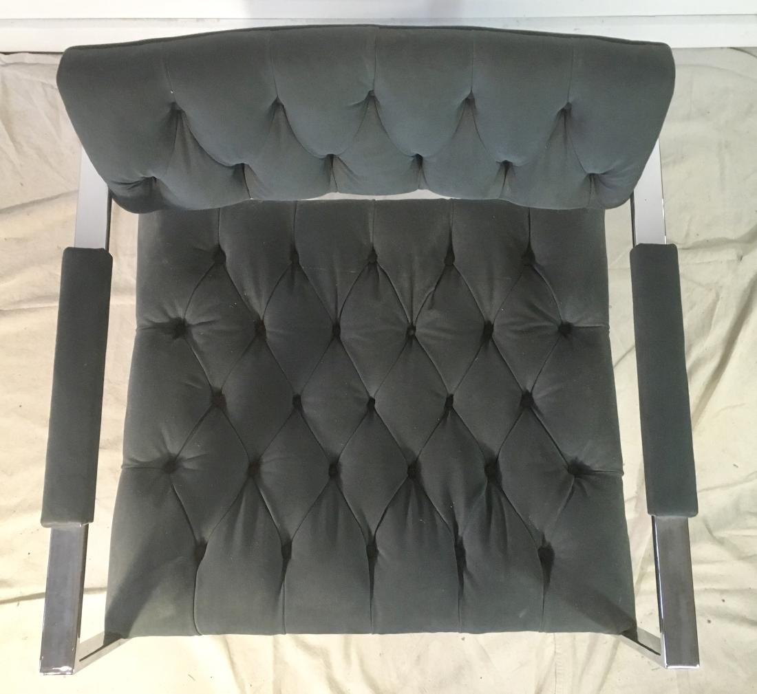 Probber Flat Bar Chrome Armchair - 5