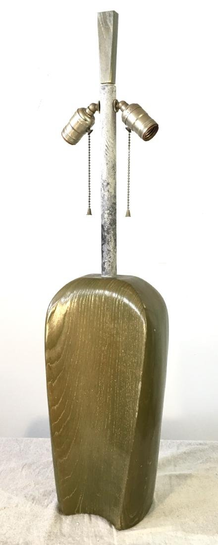 James Mont Table Lamp in Green Ceruse