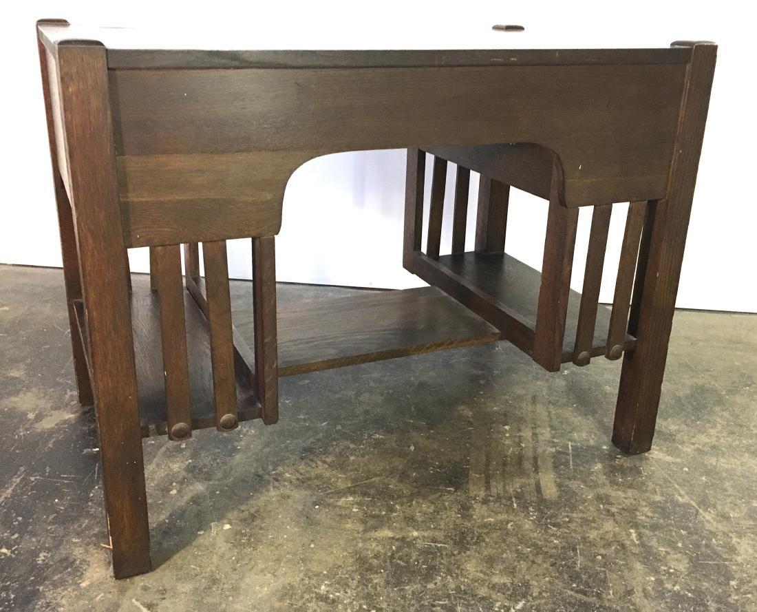 Mission Oak Desk - 5
