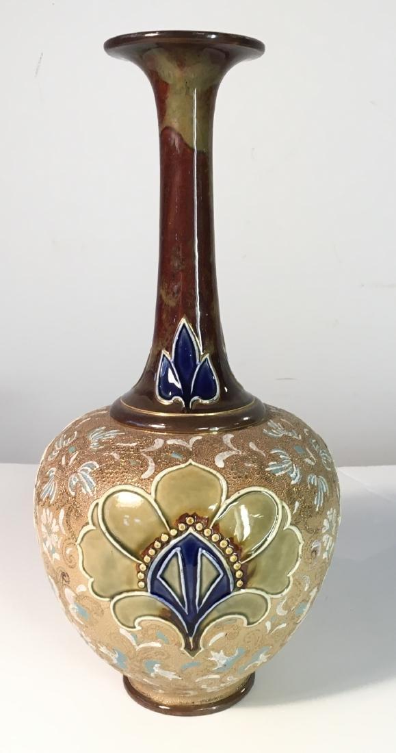 Royal Doulton Lace Pattern Vase - 2