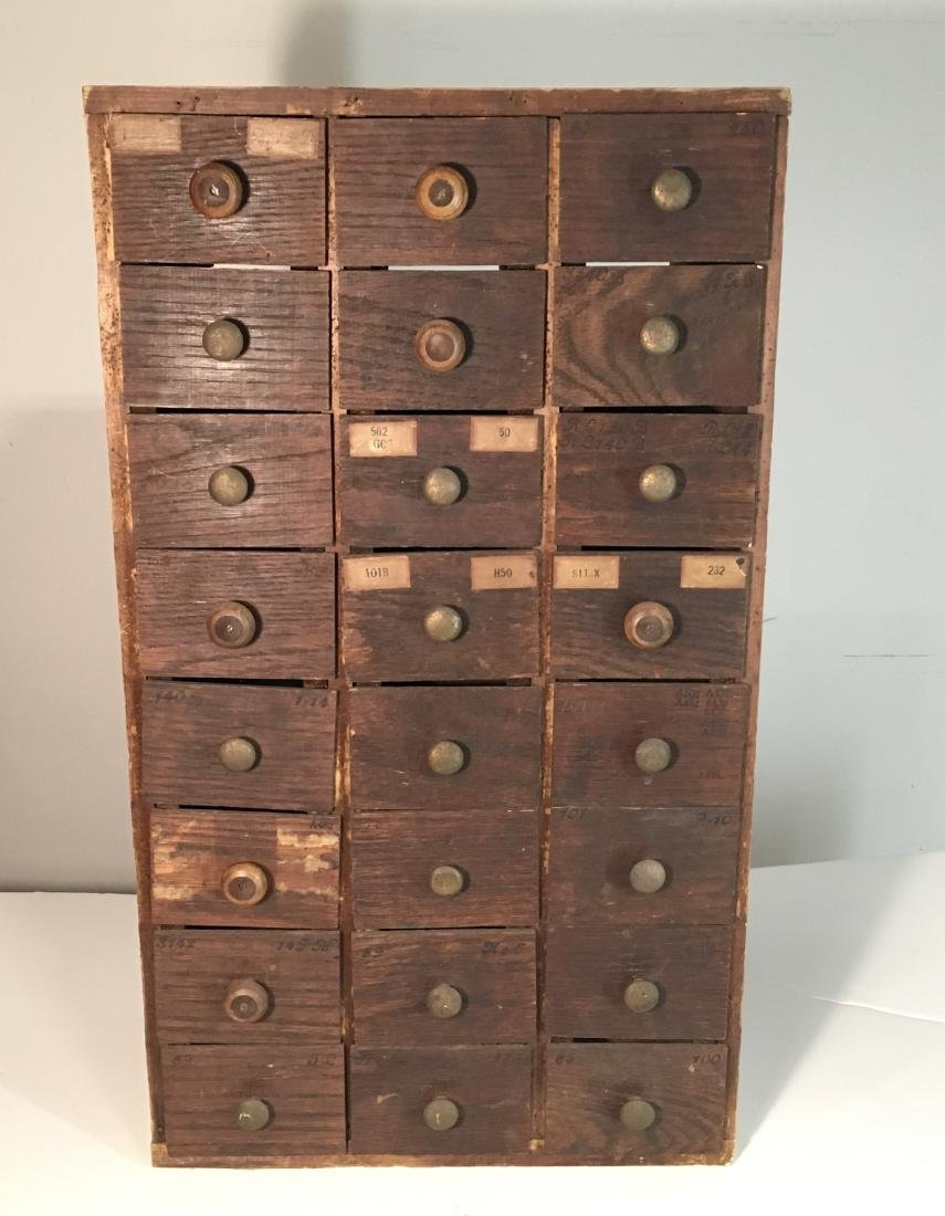 Primitive Hardware or Apothecary Cabinet
