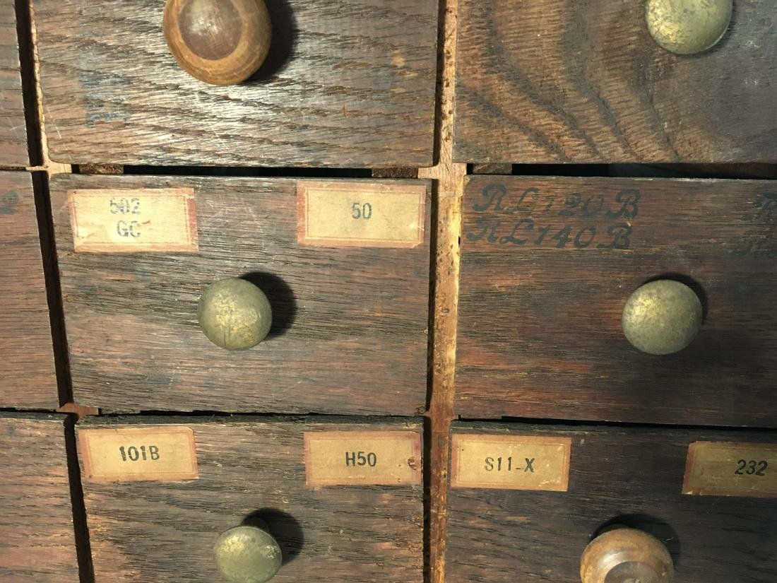 Primitive Hardware or Apothecary Cabinet - 2