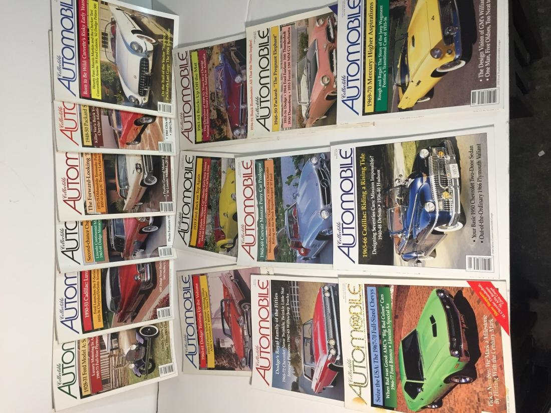 Collectible Automobile Magazines Lot of 21 - 2