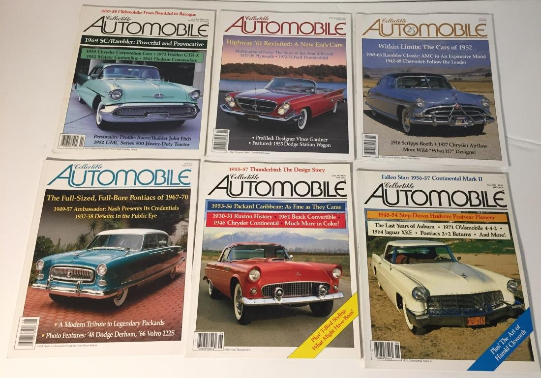 Collectible Automobile Magazines Lot of 21 - 3