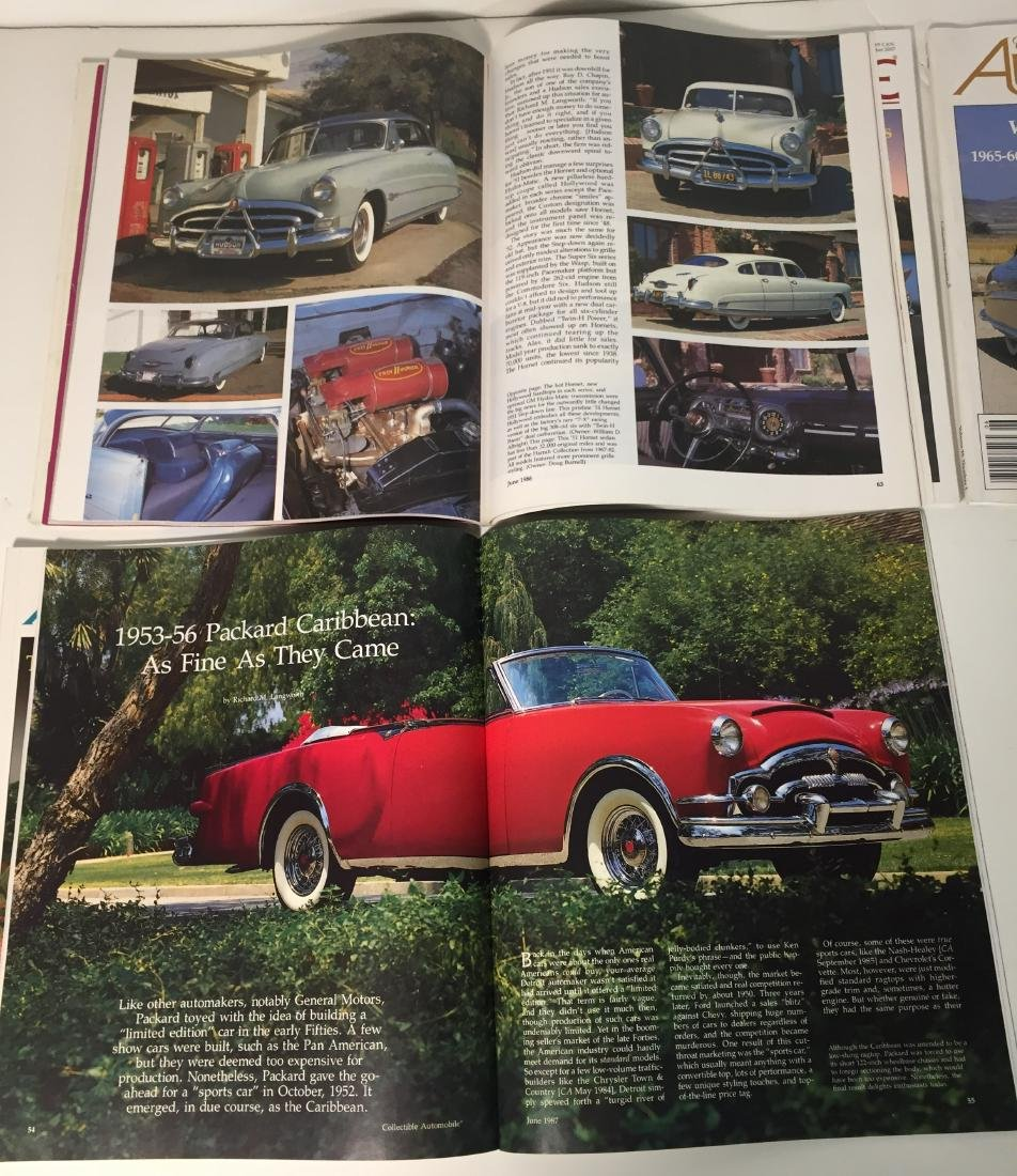 Collectible Automobile Magazines Lot of 21 - 4