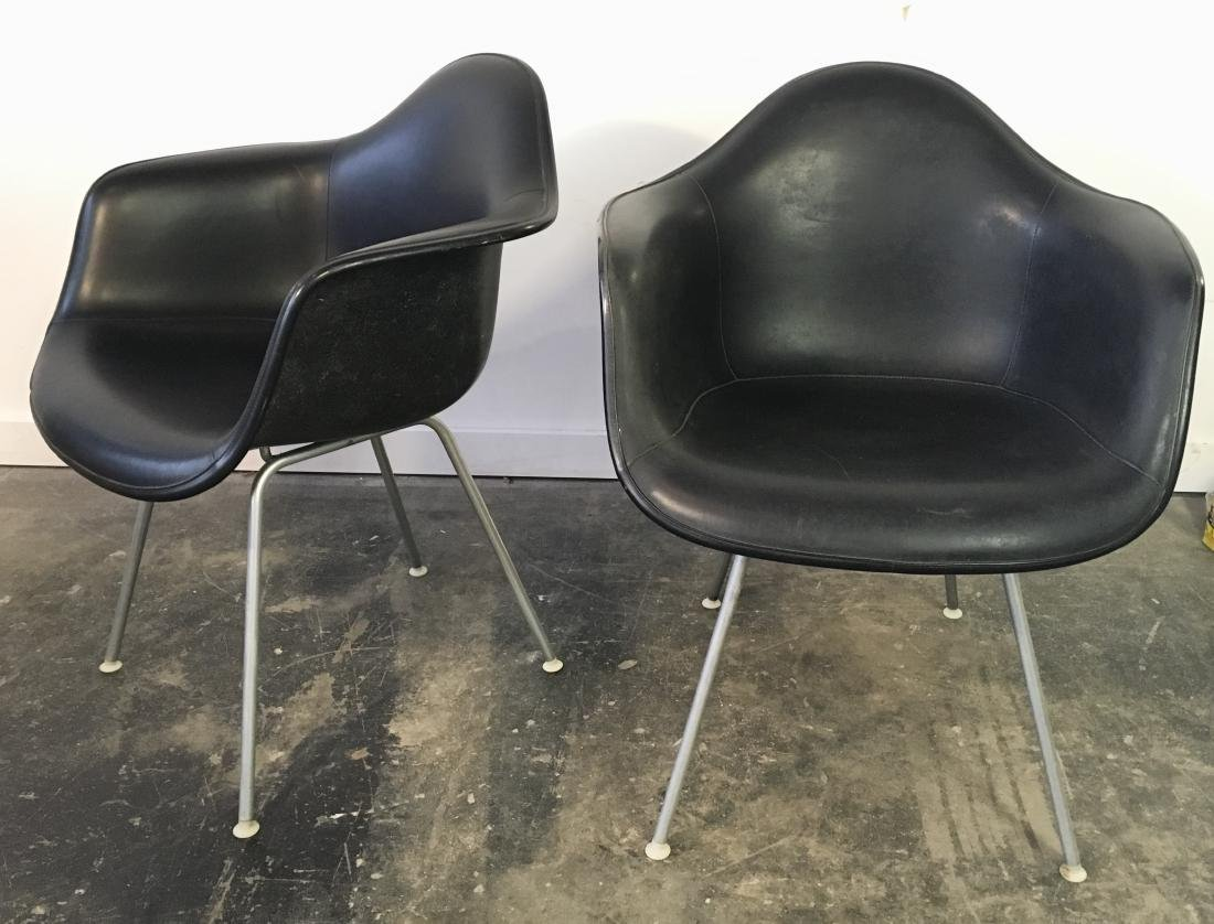 Eames for Herman Miller Pair Shell Chairs