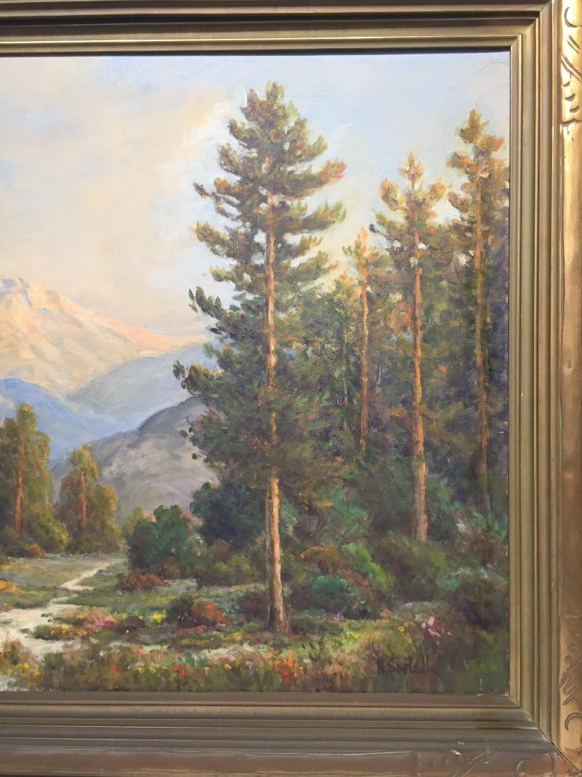 Herbert Sartelle Painting, California Impressionist - 3