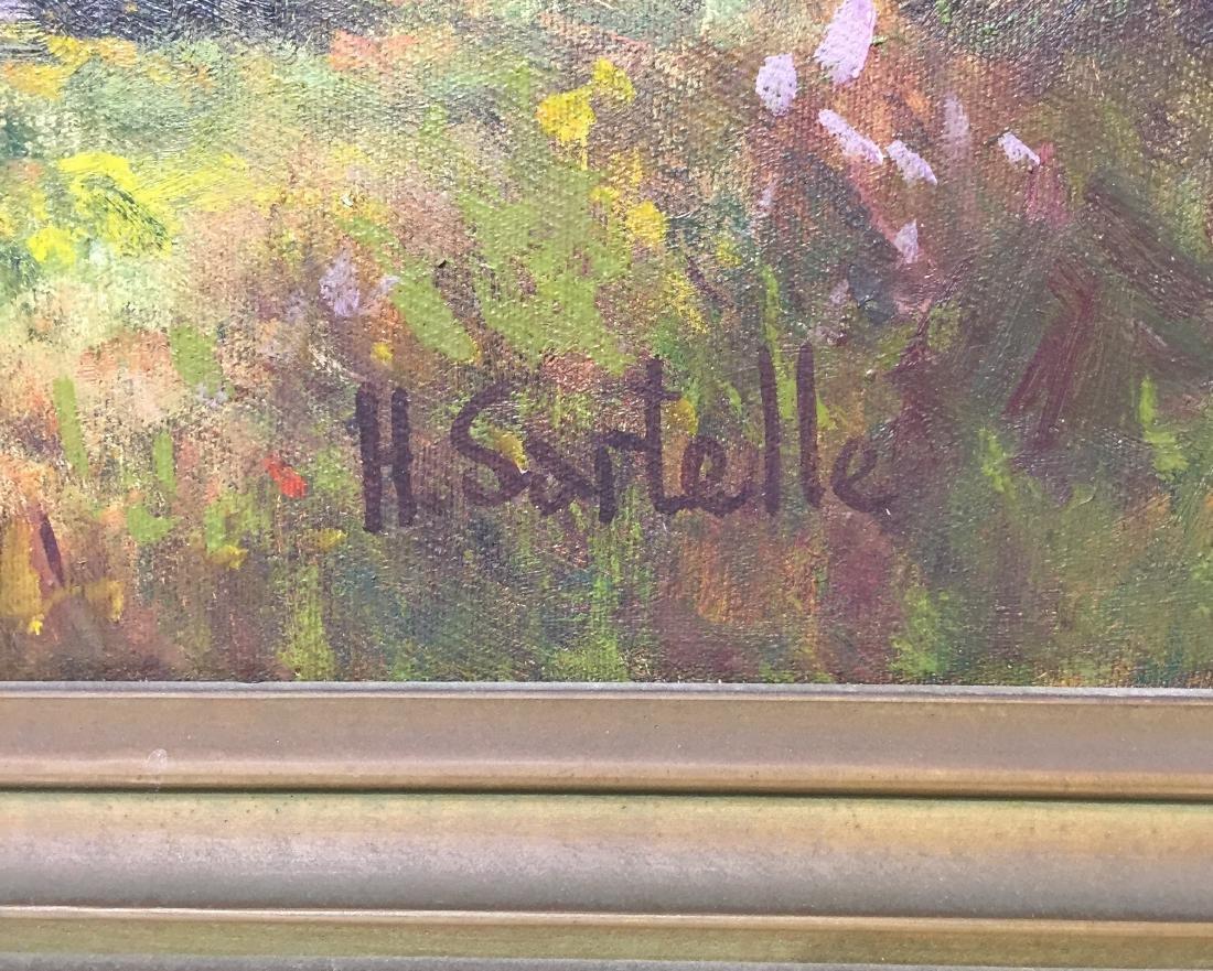 Herbert Sartelle Painting, California Impressionist - 4