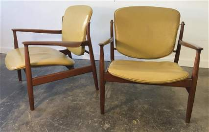 Finn Juhl for France & Sons Chairs