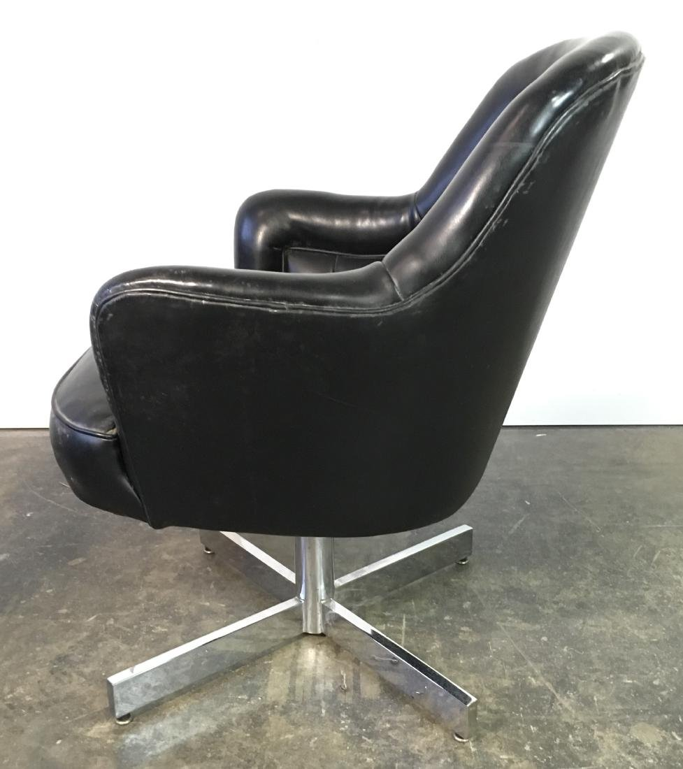 Pair Milo Baughman Swivel Chairs - 3