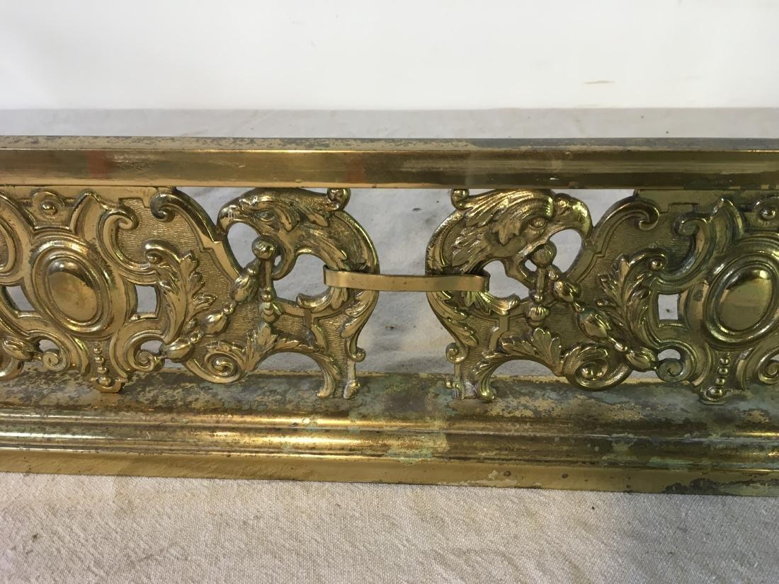 Brass Fireplace  Fender - 6
