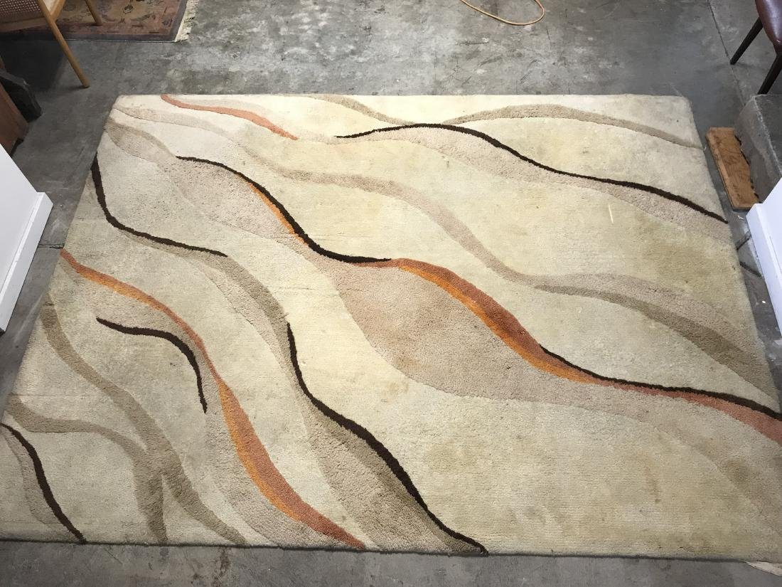 Edward Fields Style Abstract Rug