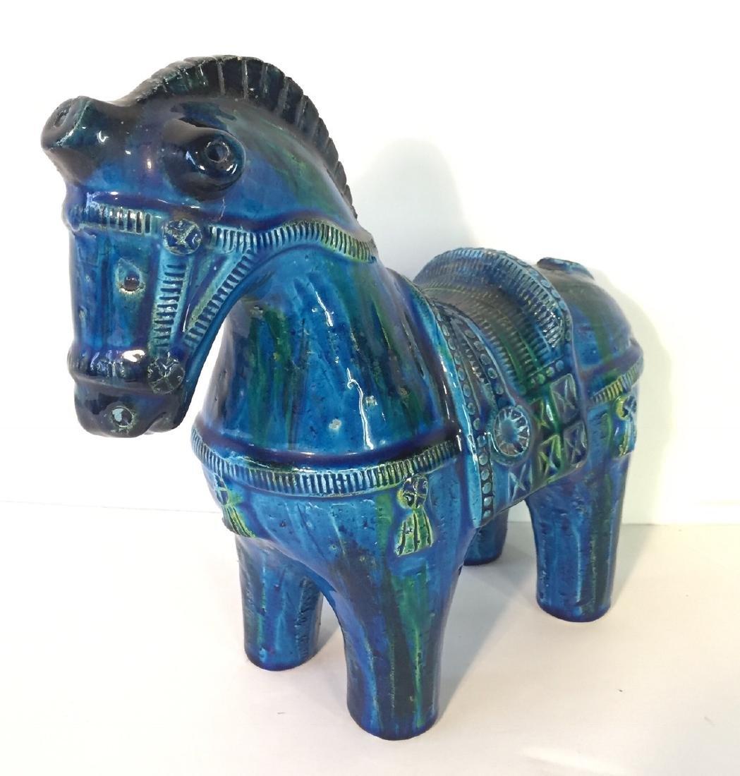 Vintage Bitossi Horse by Aldo Londi