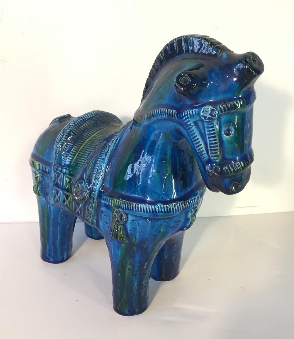Vintage Bitossi Horse by Aldo Londi - 3