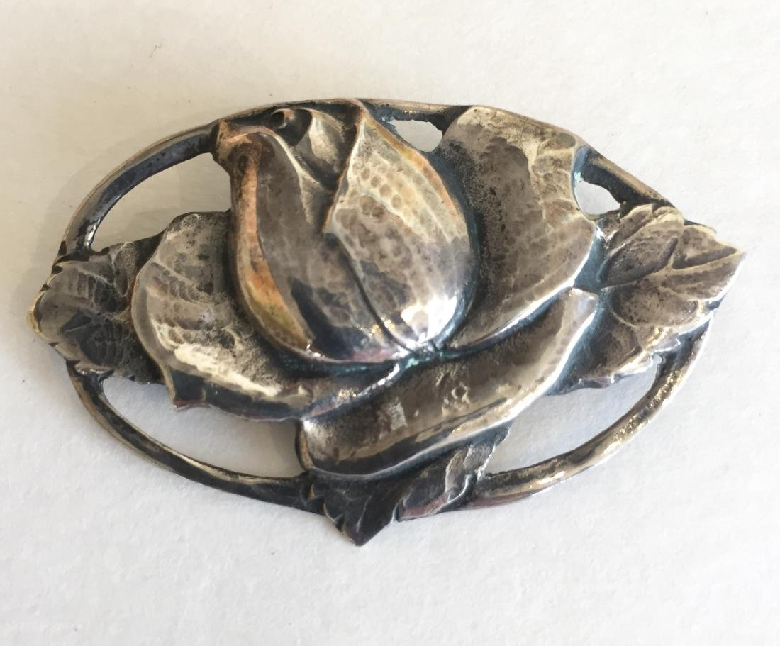 Peer Smed Antique Sterling Silver Brooch