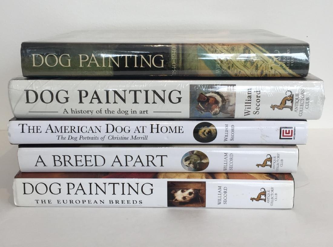 Five William Secord Dog Art Books