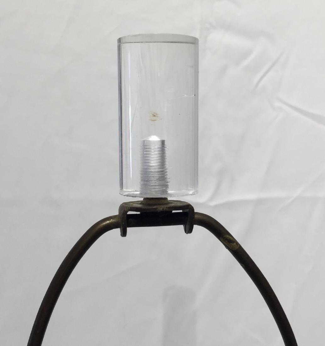 Mid Century Lucite Lamp - 4