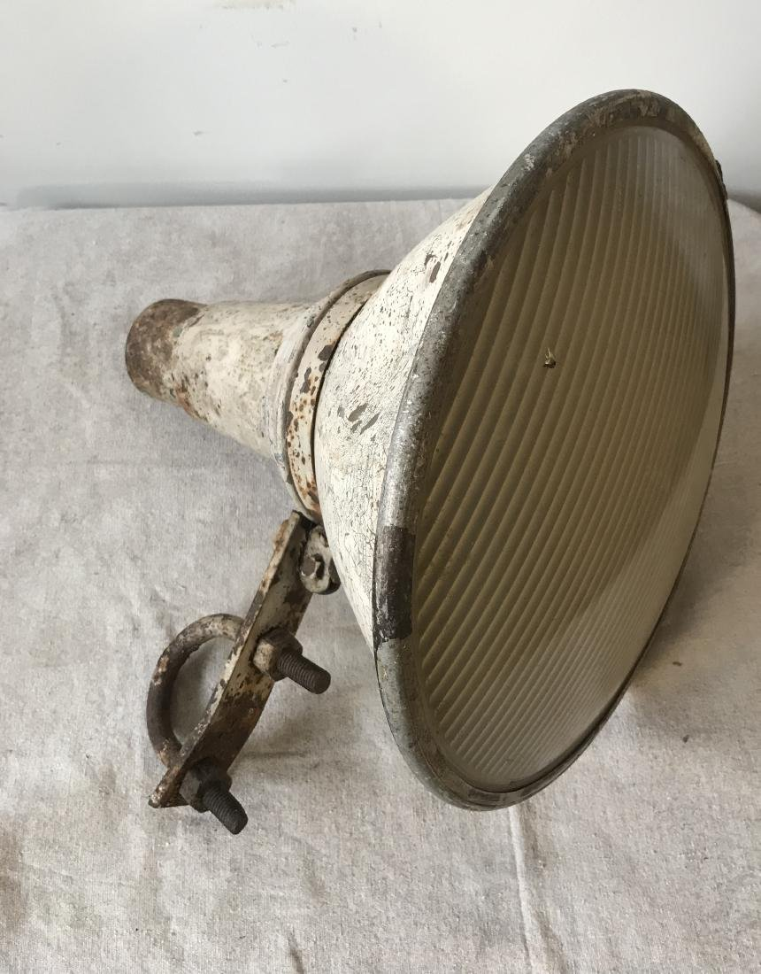 Two 1940s Industrial Lights - 2