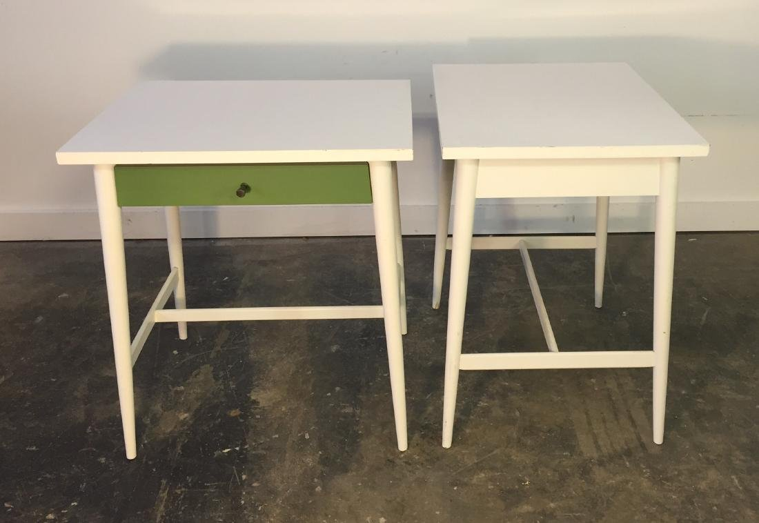 Pair Paul McCobb One Drawer Stands - 2