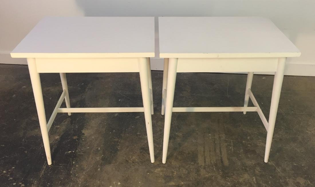 Pair Paul McCobb One Drawer Stands - 4
