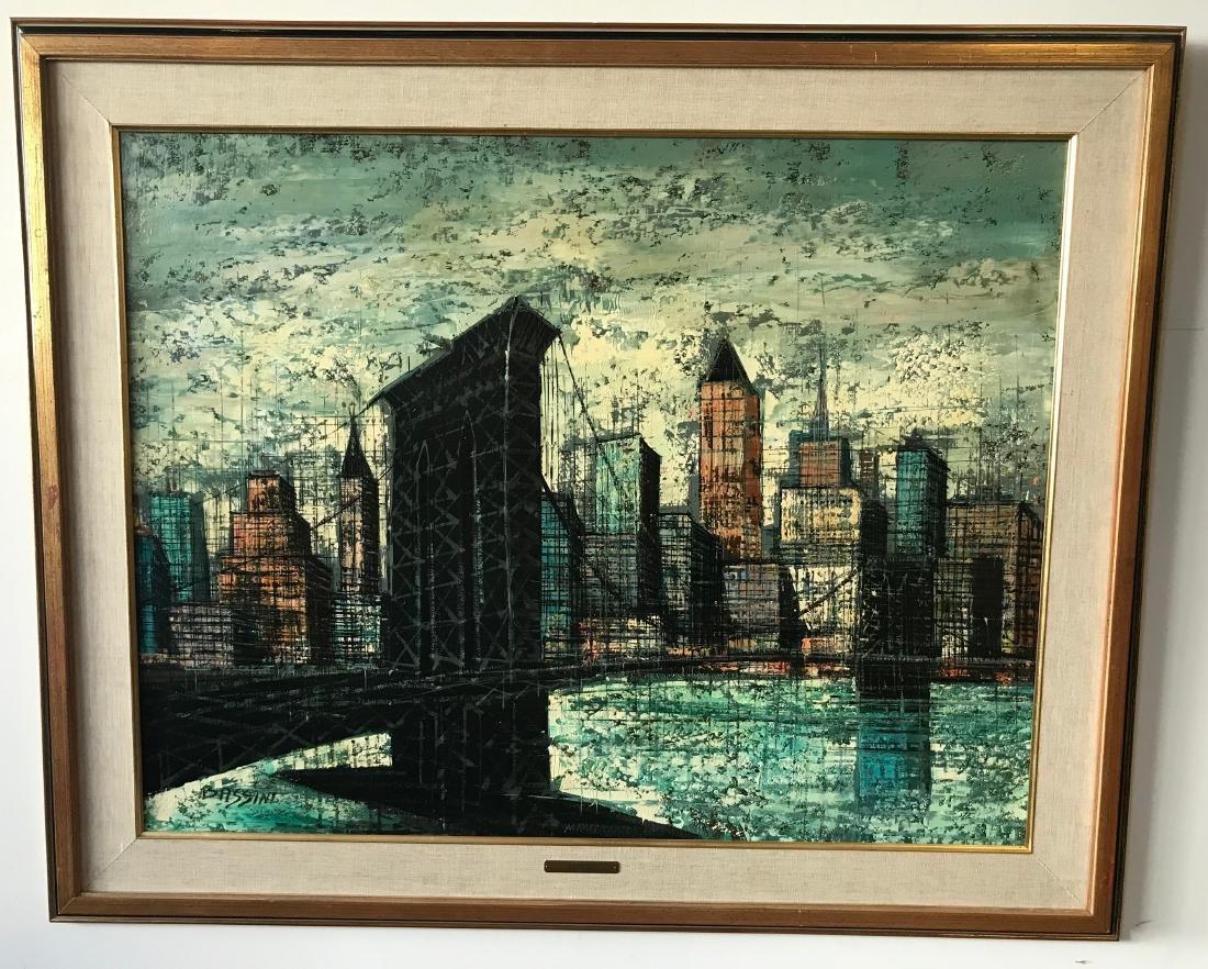 Bassini Oil Painting NYC