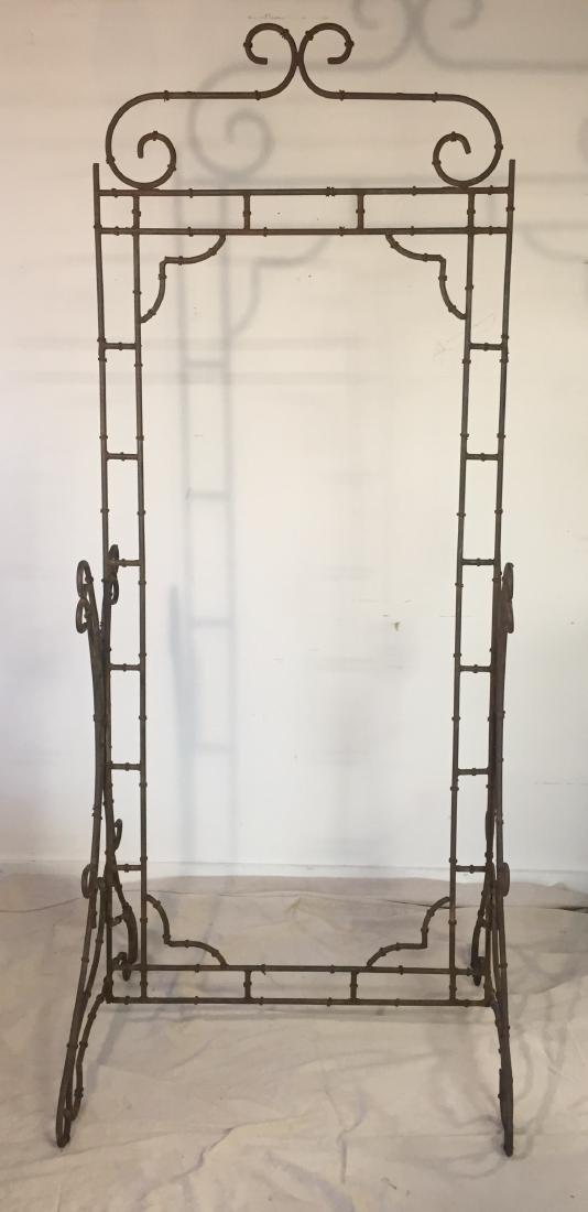Iron Faux Bamboo Garden Frame - 2