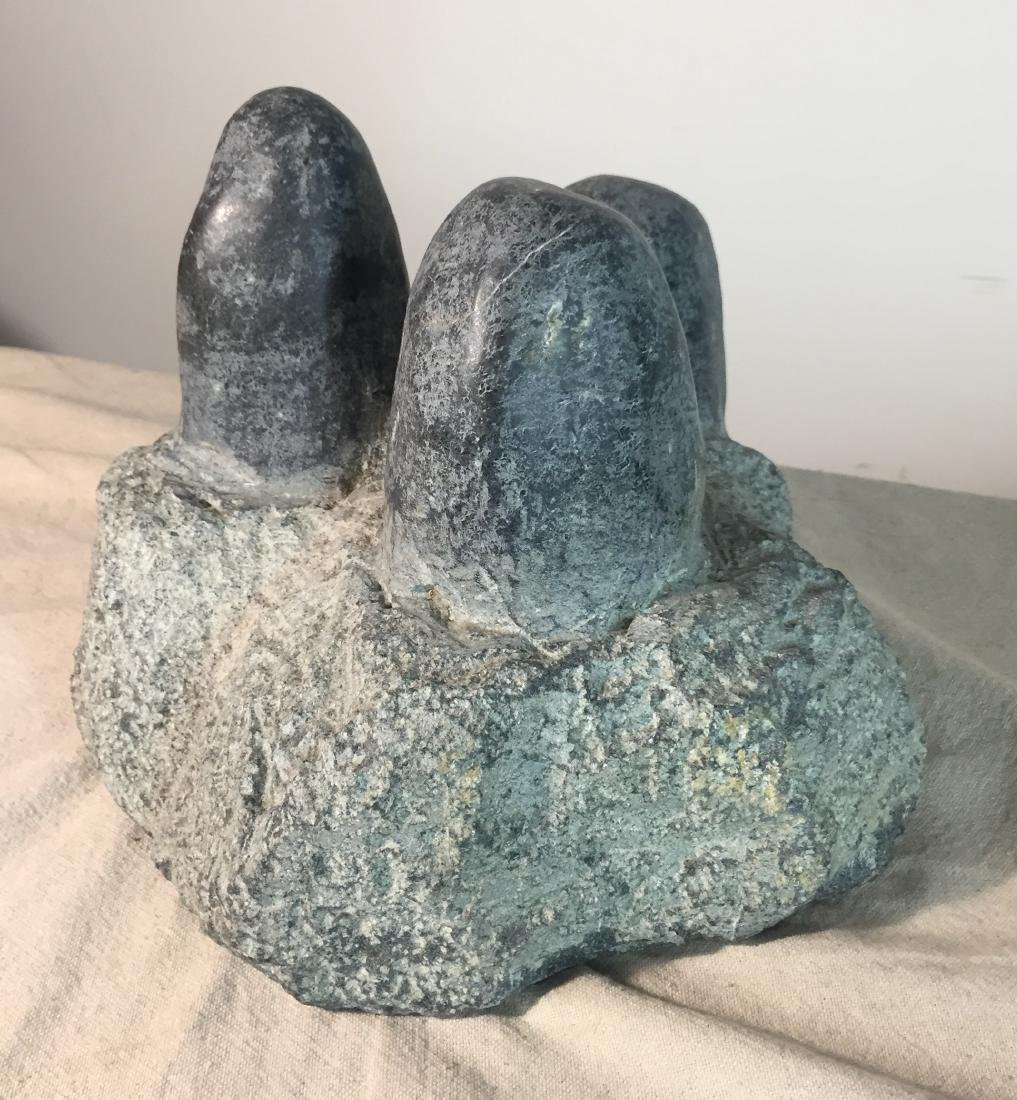 "Stone sculpture ""Dinosaur Eggs"" - 3"