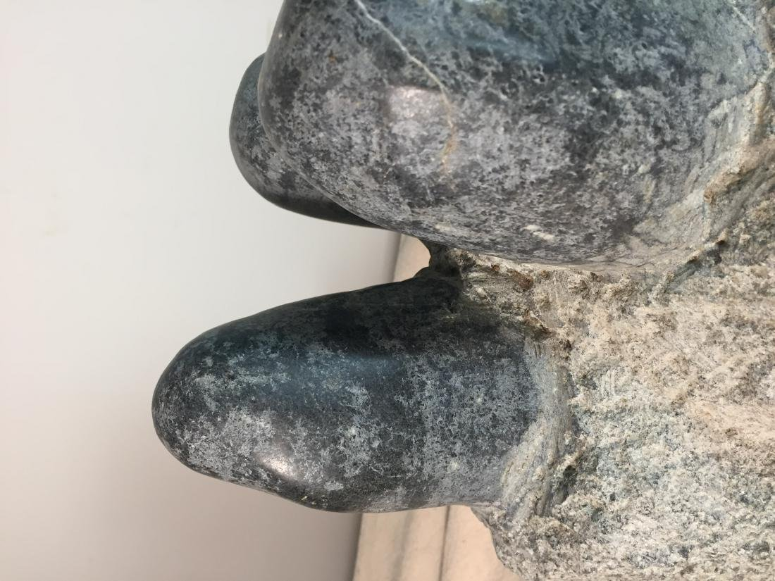 "Stone sculpture ""Dinosaur Eggs"" - 4"