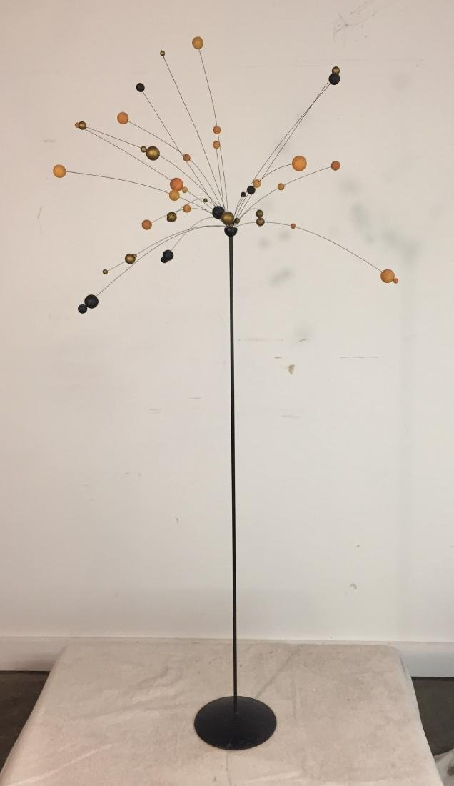 Lorids Longberg Kinetic Ball and Wire Sculpture