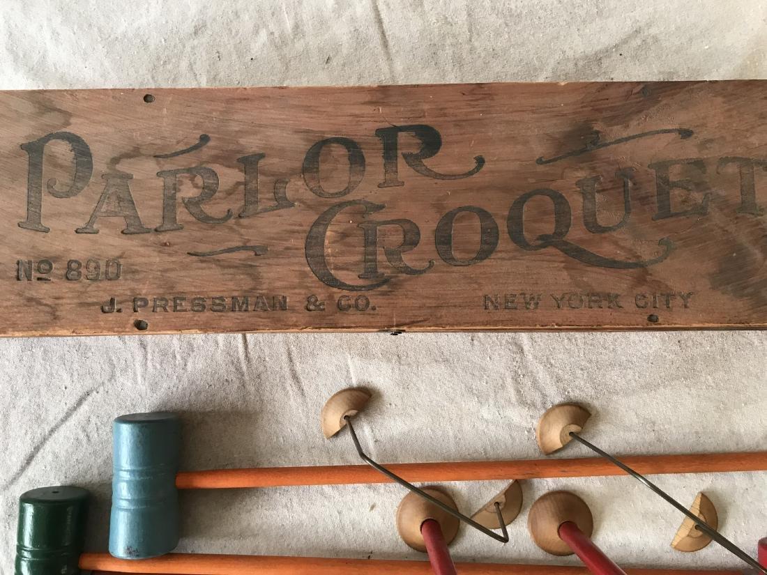 Parlor Crocquet Set - 3