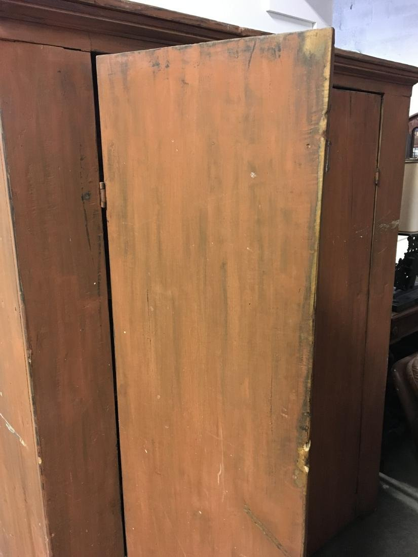 Country Cupboard in Pumpkin Paint - 7
