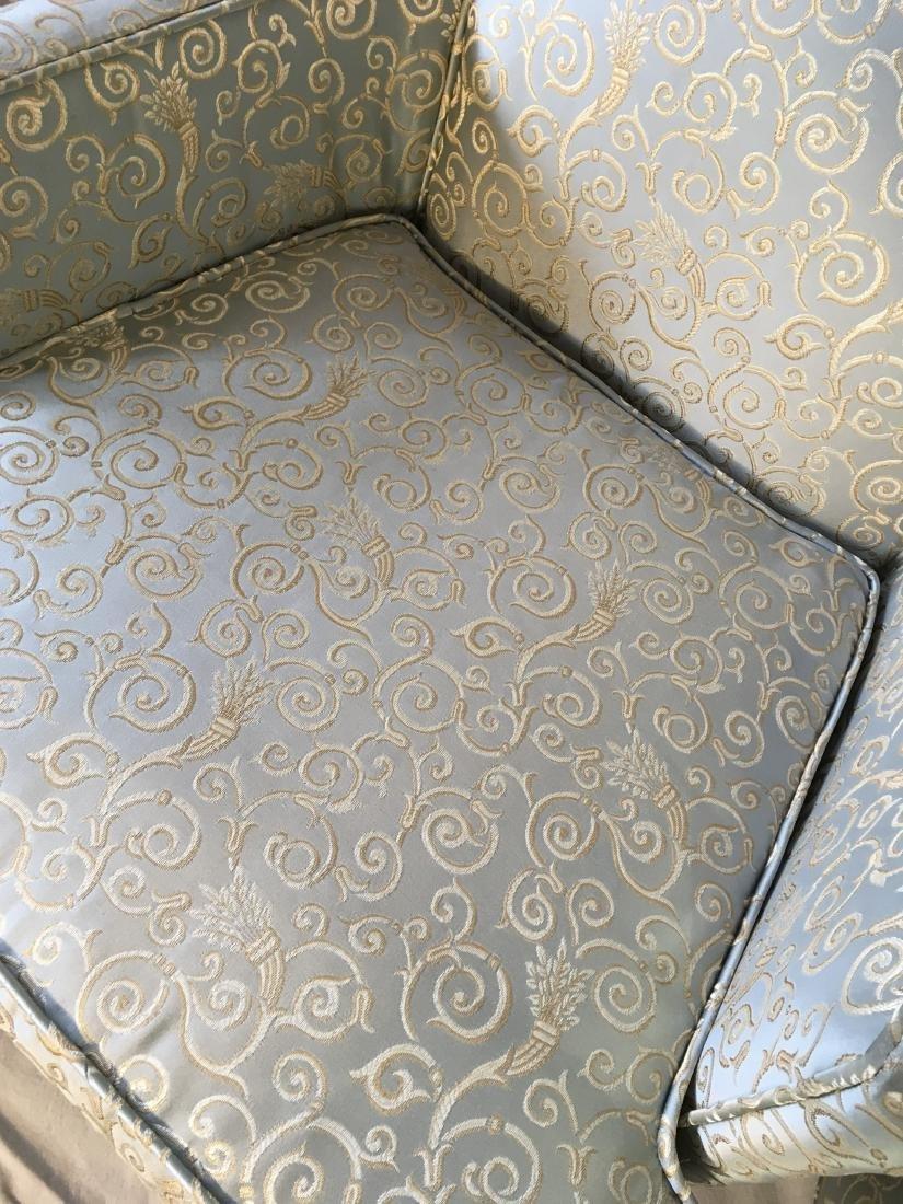 Pair Hollywood Regency Armchairs - 5