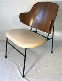 Ib Kofod-Larsen Iron & Walnut Penguin Chair (#2)