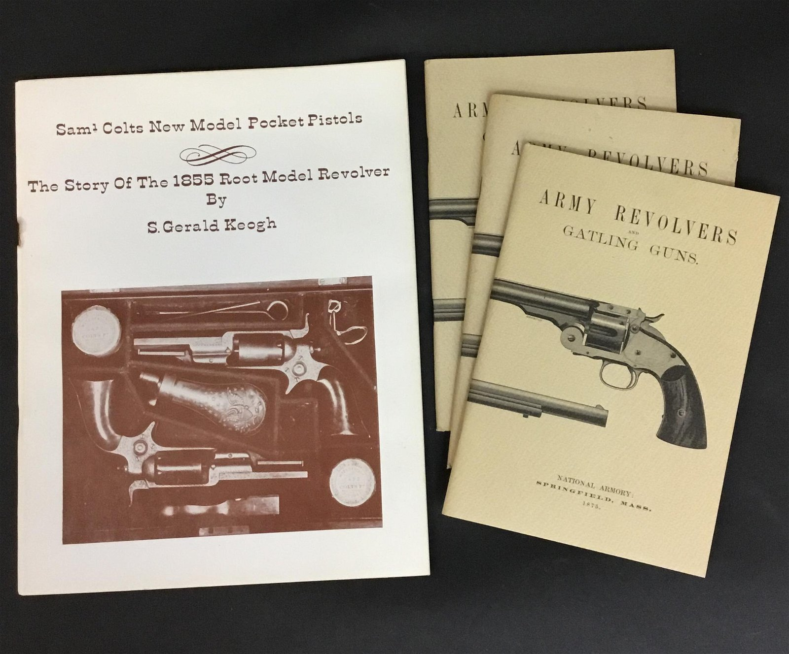 Saml Colts Pocket Pistols and Army Revolvers and