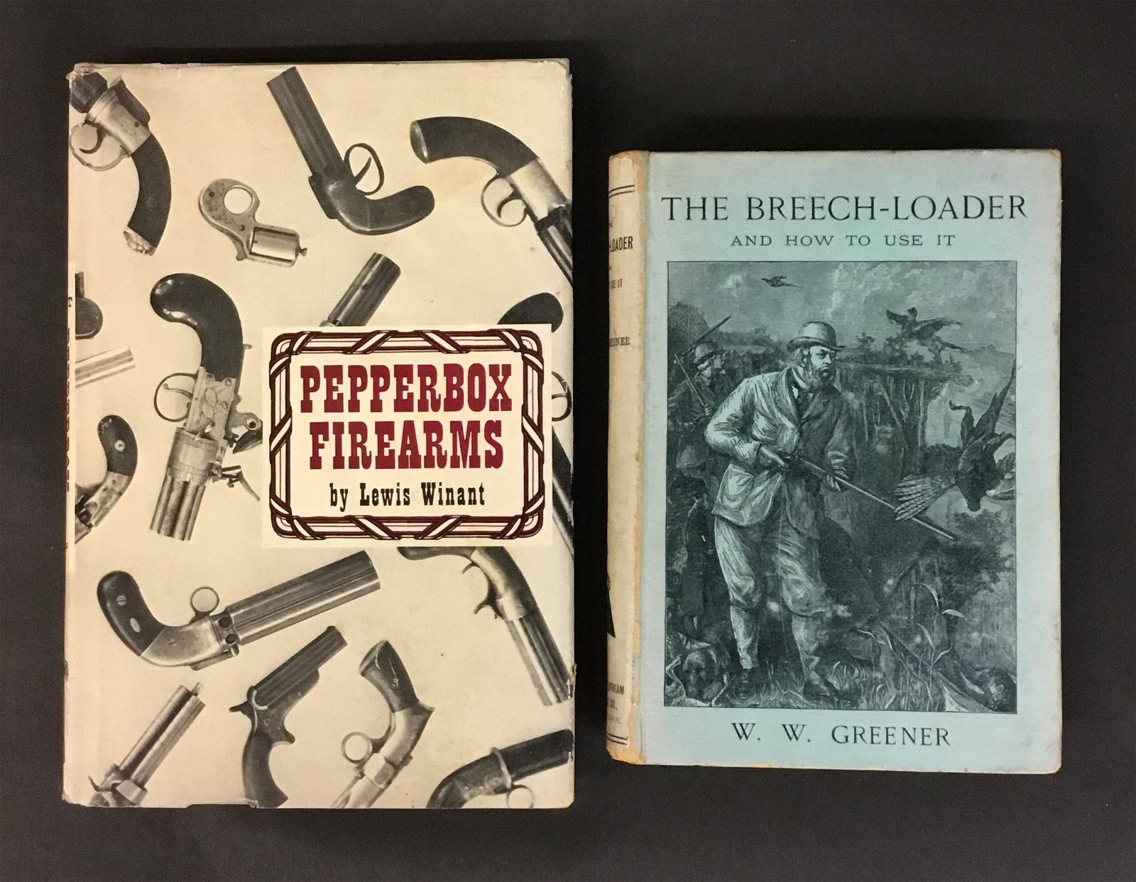 Pepperbox Firearms signed by Winant and The
