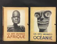Les Arts Sauvages Afrique and Oceanie - Both Complete