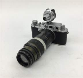 Rare 1939 Leica IIIb No. 10 of 1000