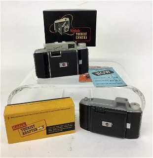 Kodak Tourist Cameras Adapter and Box