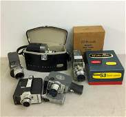 Vintage 8mm Zoom Movie Cameras Keystone Bell Howell