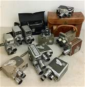 Vintage 8mm Movie Cameras DeJur Argus Bell & Howell