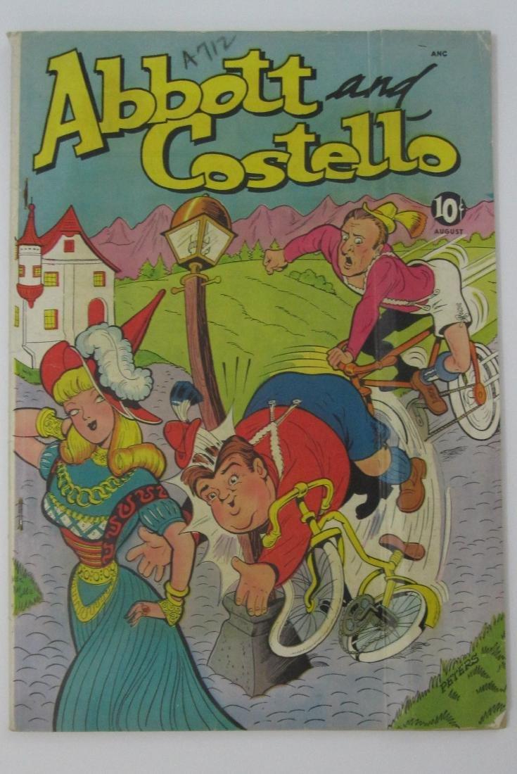 Abbott and Costello #10 (Aug 1950, St. John) Joe Kubert