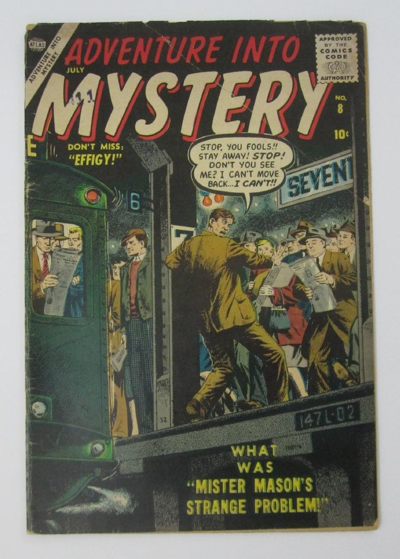 Adventure into Mystery #8 (Jul 1957 Atlas) John Severin