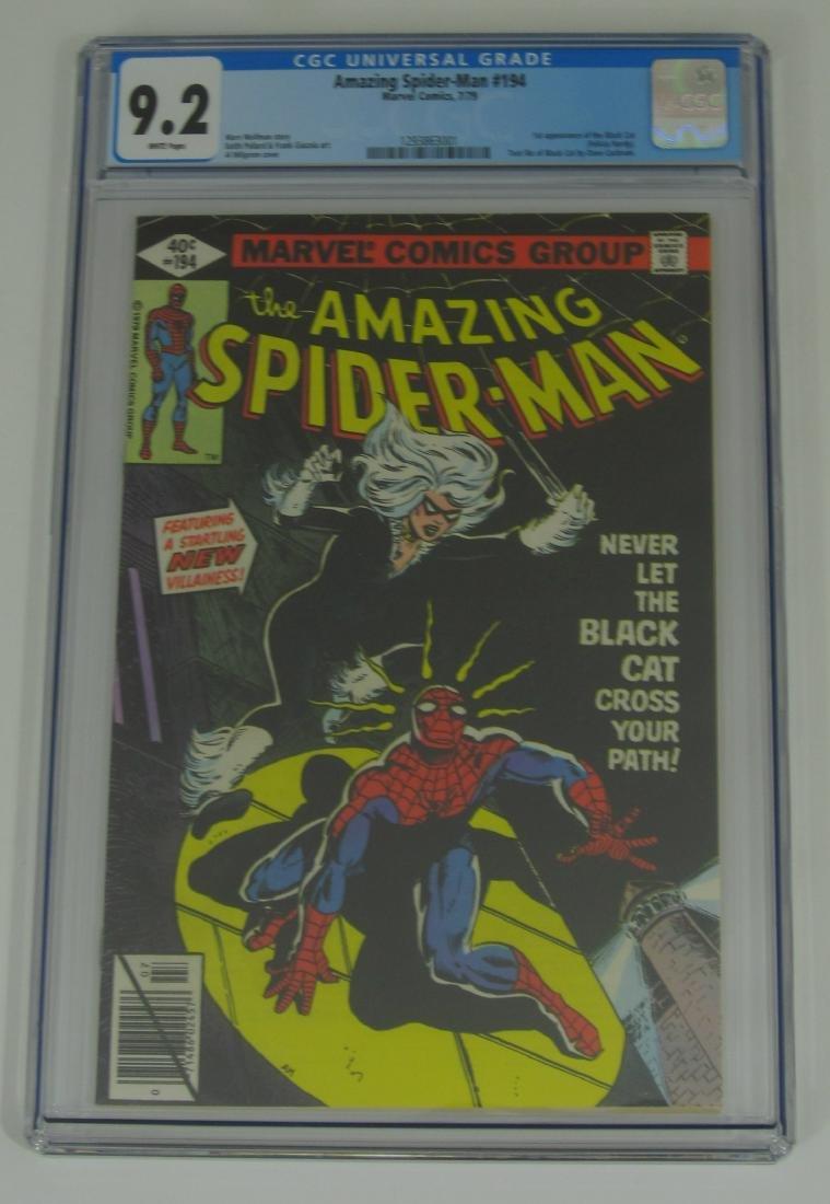 Amazing Spider-Man #194 1st Black Cat CGC 9.2