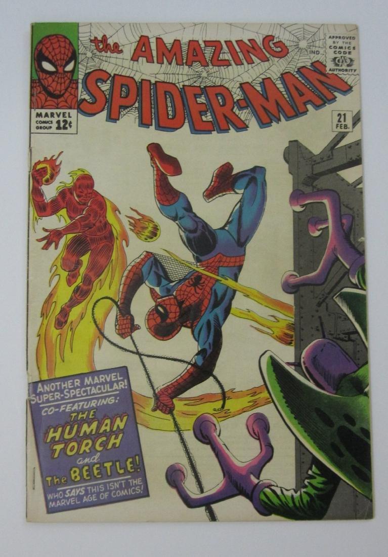 Amazing Spider-Man #21 (Feb 1965, Marvel) Steve Ditko