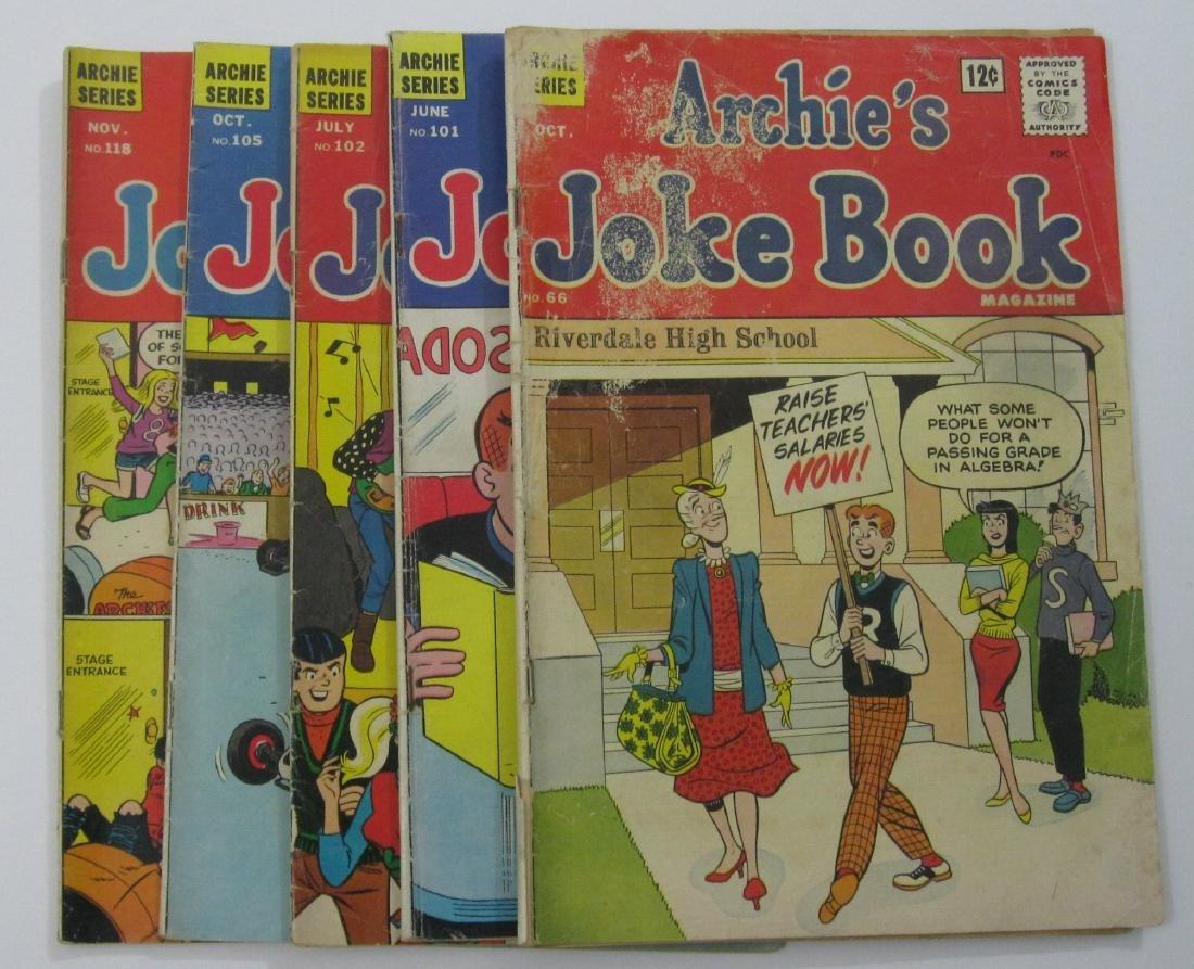Archie & Me/Archie's Joke Book (40) Silver/Bronze Age