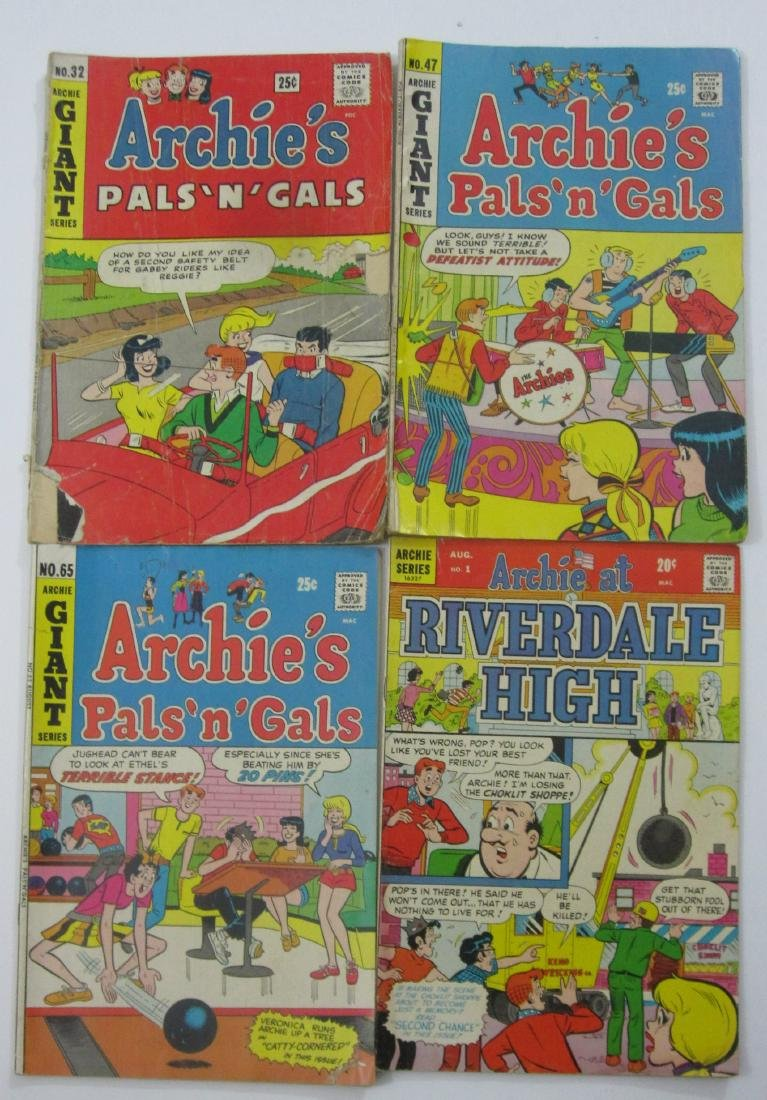Archie Comics (21) Silver/Bronze Age issues