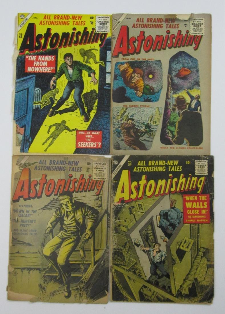 Astonishing #45, 49, 53 & 54 (Atlas)