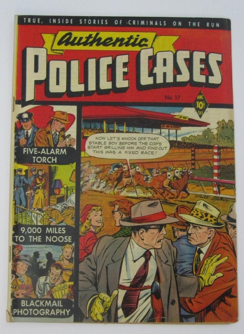 Authentic Police Cases #17 (Feb 1952) Matt Baker cover