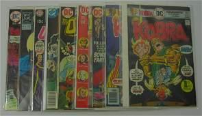 DC 9 Bronze Age Comic Books