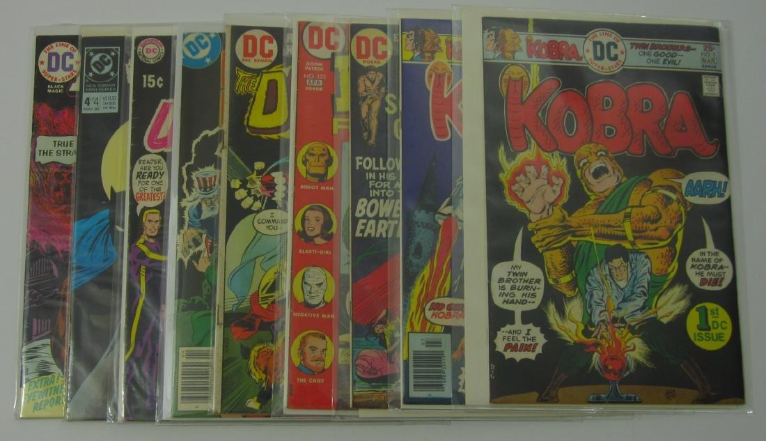 DC (9) Bronze Age Comic Books